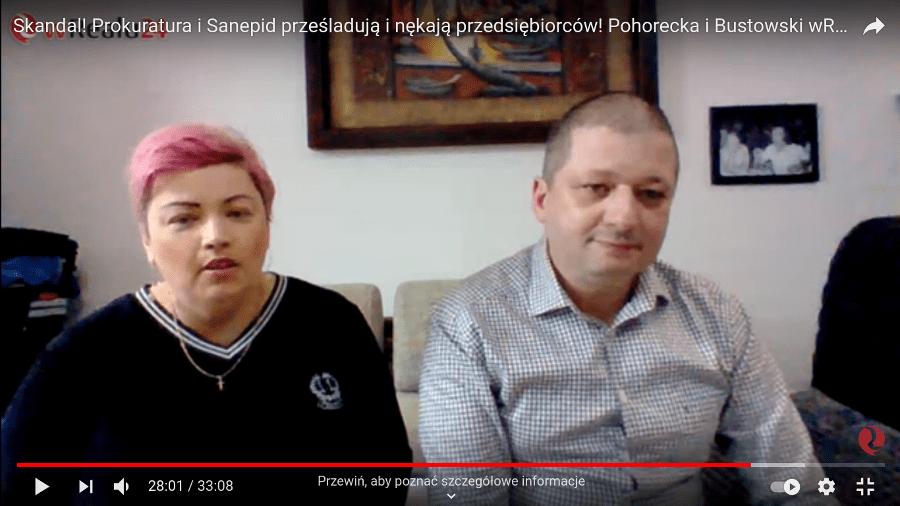 Katarzyna Pohorecka i Marcin Bustowski w Realu24