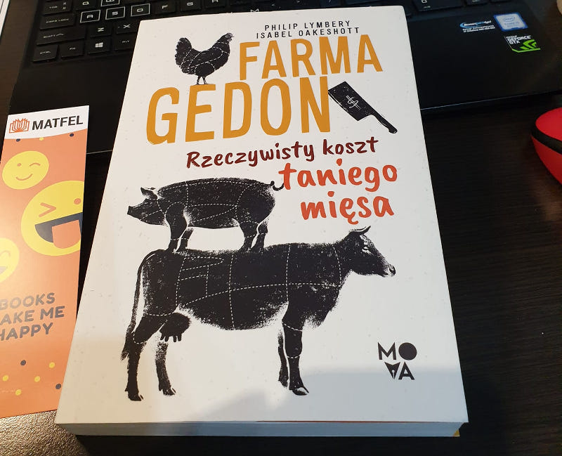 Polecam książkę Farma Gedon